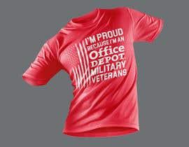 #484 for Military Veteran T-Shirt Design af Wasiulhera