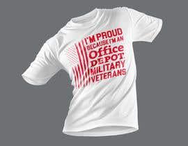 #485 for Military Veteran T-Shirt Design af Wasiulhera