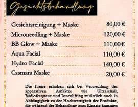 Nro 55 kilpailuun Flyer for cosmetic studio needed käyttäjältä adriana1231
