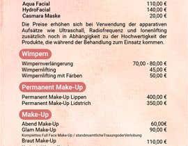 Nro 44 kilpailuun Flyer for cosmetic studio needed käyttäjältä jubayergd60