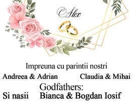 Nro 10 kilpailuun Wedding invitation template käyttäjältä grintgaby1