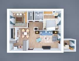 #43 untuk 2 bedroom apartment interior design oleh shasamdesignz