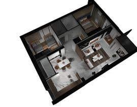 #39 untuk 2 bedroom apartment interior design oleh pcinteriordesign