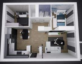 #35 untuk 2 bedroom apartment interior design oleh prodesigning10