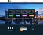 Graphic Design Inscrição do Concurso Nº19 para Design a Website Mockup for a Start-Up Competition