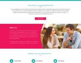 Nro 7 kilpailuun Webdesigner for Dating site käyttäjältä webidea12