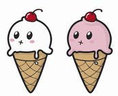 Graphic Design Contest Entry #15 for VERY SIMPLE JOB - Design a kawaii ice cream t-shirt print for infant/children's clothing brand