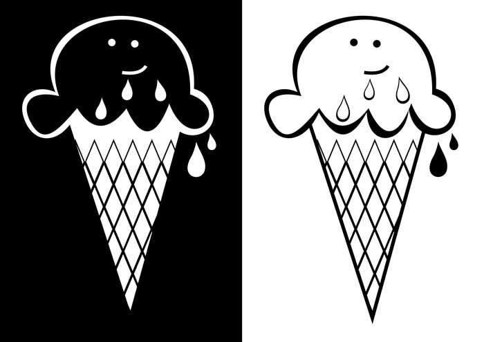 Contest Entry #                                        29                                      for                                         VERY SIMPLE JOB - Design a kawaii ice cream t-shirt print for infant/children's clothing brand