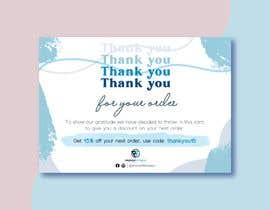 #221 for Design me a Thank you card by kimphung191196