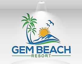 Nro 150 kilpailuun Gem Beach Resort logo käyttäjältä jaktar280
