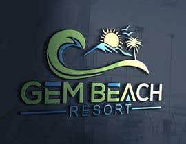 Nro 211 kilpailuun Gem Beach Resort logo käyttäjältä ra3311288