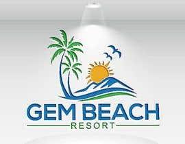 Nro 202 kilpailuun Gem Beach Resort logo käyttäjältä rashidooo