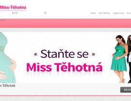 Nro 1 kilpailuun Navrhnout logo for Miss Těhotná CZ www.miss-tehotna.cz käyttäjältä madiworks