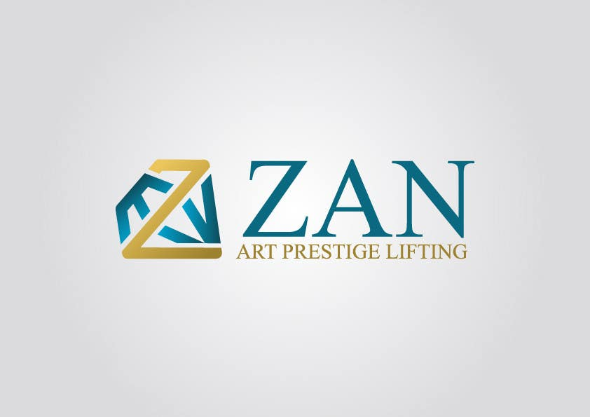 Kilpailutyö #62 kilpailussa Разработка логотипа for ZAN ART PRESTIGE LIFTING