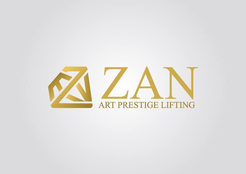 Kilpailutyö #63 kilpailussa Разработка логотипа for ZAN ART PRESTIGE LIFTING