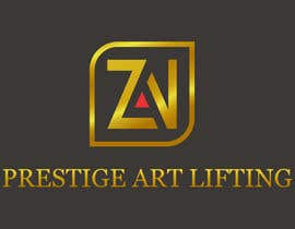 #75 para Разработка логотипа for ZAN ART PRESTIGE LIFTING por RebelliousDesign