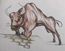 #89 for Cartoon Caricature of a Bull af BrandoLabel