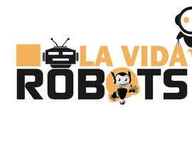 adnanfaisal289 tarafından Logo Design for La Vida Robots (www.lavidarobots.org) için no 138