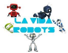 Nro 143 kilpailuun Logo Design for La Vida Robots (www.lavidarobots.org) käyttäjältä shwetharamnath