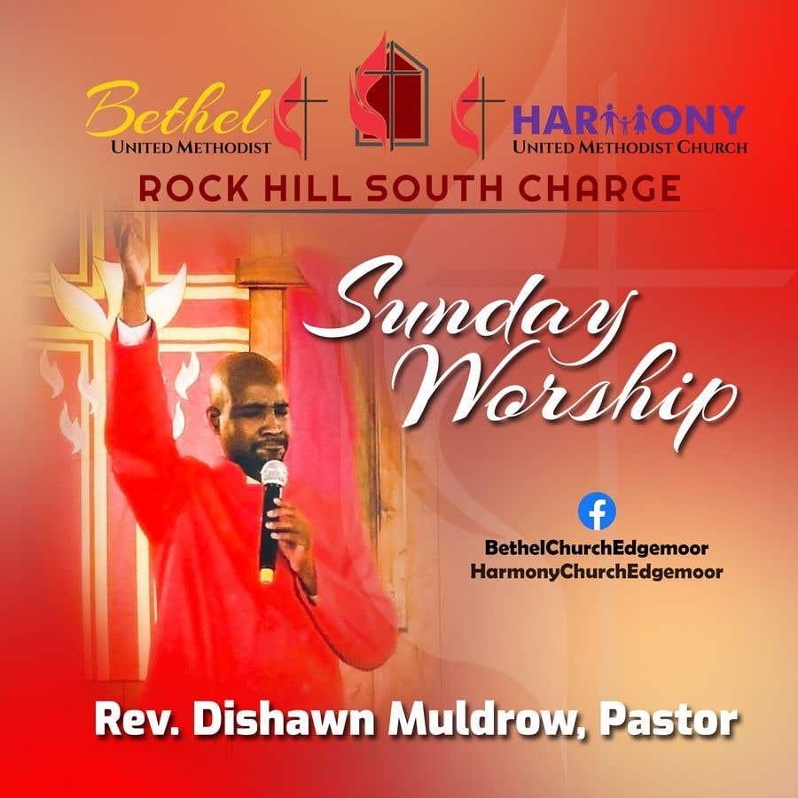 Kilpailutyö #                                        133                                      kilpailussa                                         Church Logo/Poster Revamp - 14/06/2021 01:57 EDT