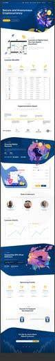 Миниатюра конкурсной заявки №                                                27                                              для                                                 Pre-sell Crypto Token Design  website (self drop) solutions contest