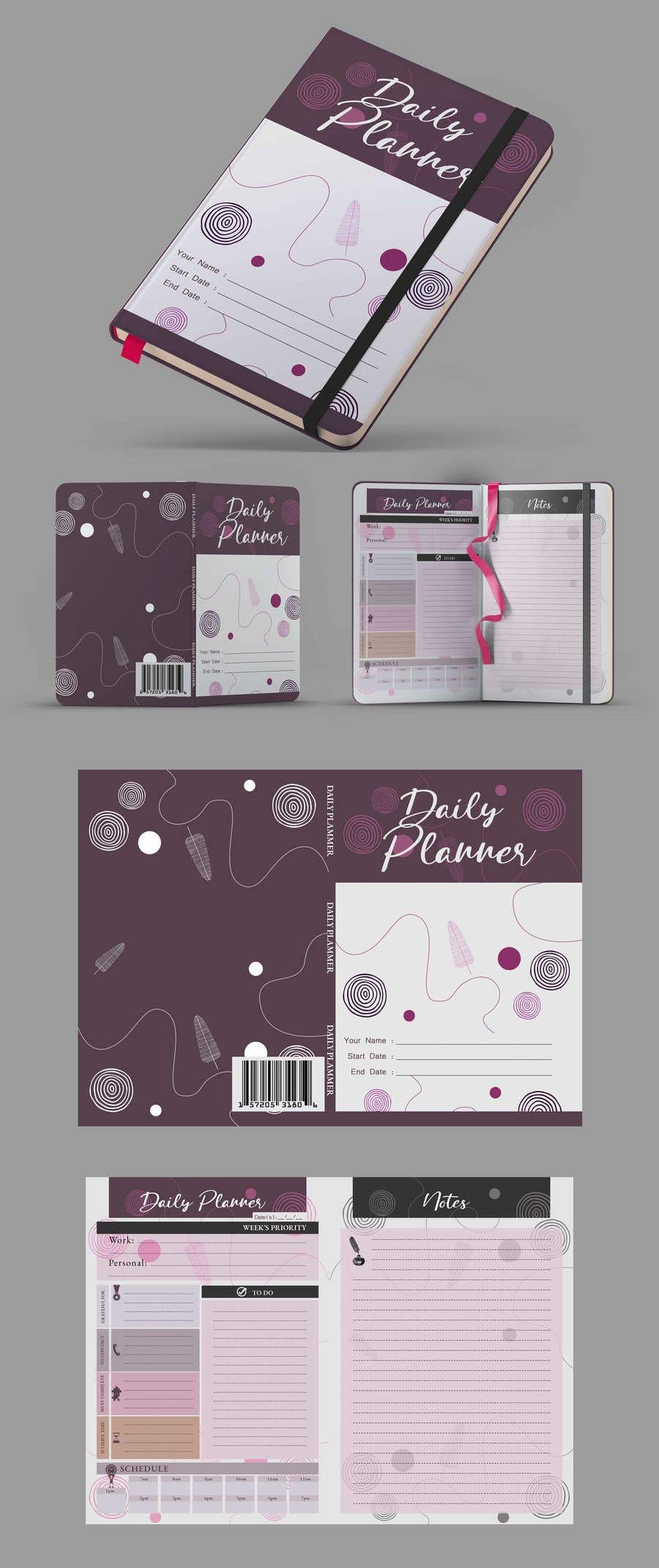 Proposition n°                                        48                                      du concours                                         Design book cover (Cover and redesign our planner)