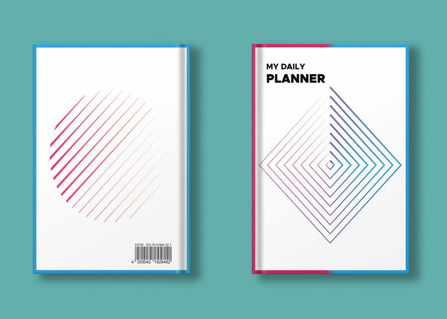 Proposition n°                                        46                                      du concours                                         Design book cover (Cover and redesign our planner)