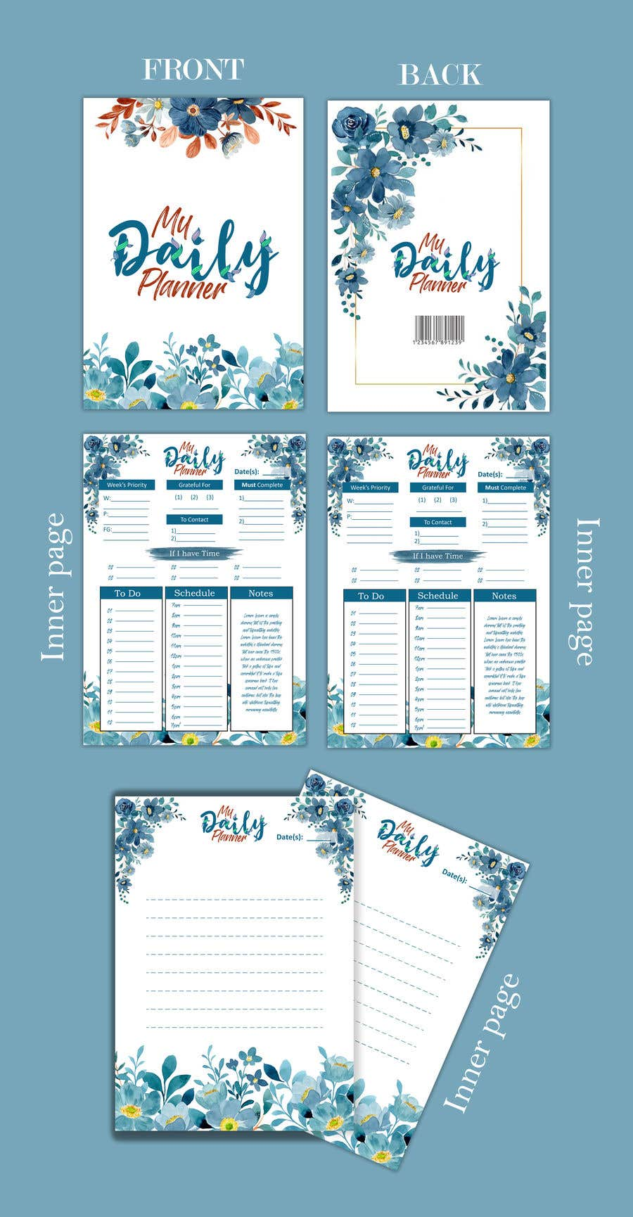 Proposition n°                                        32                                      du concours                                         Design book cover (Cover and redesign our planner)