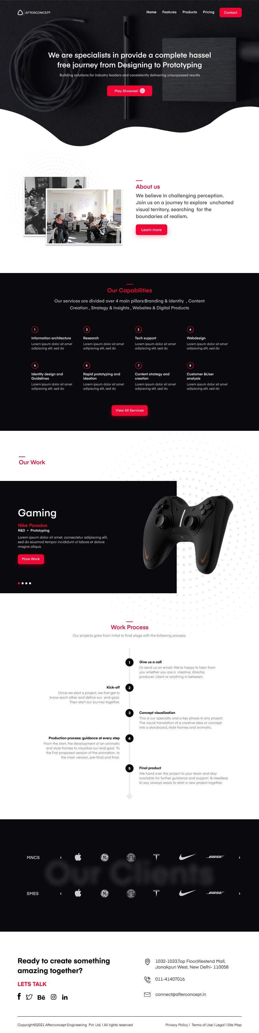 Konkurrenceindlæg #                                        23                                      for                                         Improve UI/UX design for the website
