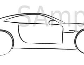 #5 for Create an Outline sketch for a car as per given example af hugolazo