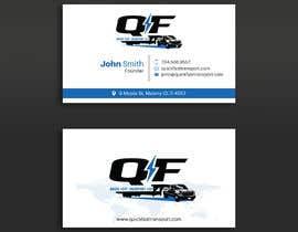 #156 untuk Business Cards for Trucking Company oleh pratikvartak