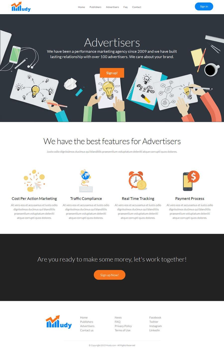 Konkurrenceindlæg #                                        19                                      for                                         Design website for our affiliate network