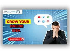 """Nro 7 kilpailuun Seven YouTube Thumbnails for """"Social Magnet"""" käyttäjältä Designidea336"""