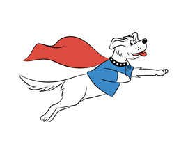 #35 for Hand Drawing (logo) of ZAM the super dog af ramjeevacartoons