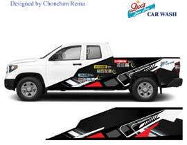 Nro 10 kilpailuun Partial Truck Wrap Design käyttäjältä ChonchonRema