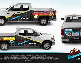 Nro 4 kilpailuun Partial Truck Wrap Design käyttäjältä SAKTI2