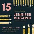 Graphic Design Конкурсная работа №57 для Create 3 birthday invitations for a birthday party