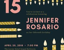 #57 для Create 3 birthday invitations for a birthday party от wahabqureshi1239