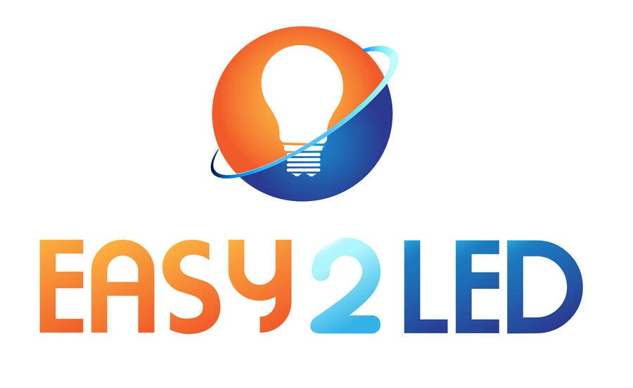 Penyertaan Peraduan #111 untuk Design a Logo for Easy2LED.com