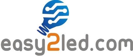 Penyertaan Peraduan #69 untuk Design a Logo for Easy2LED.com
