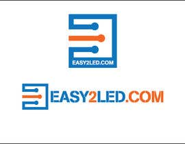 #40 for Design a Logo for Easy2LED.com by iakabir