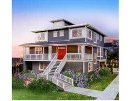 Nro 40 kilpailuun House addition remodel 3d design architectural drawings käyttäjältä saeedsk11