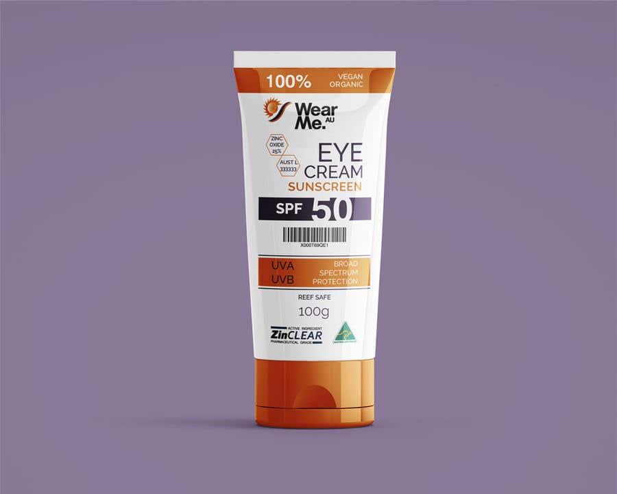 Konkurrenceindlæg #                                        53                                      for                                         Design a Sunscreen Tube Packaging!