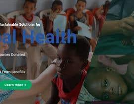 armansheikh2320 tarafından WordPress photo/home page info layout assistance (for global aid organization) için no 13