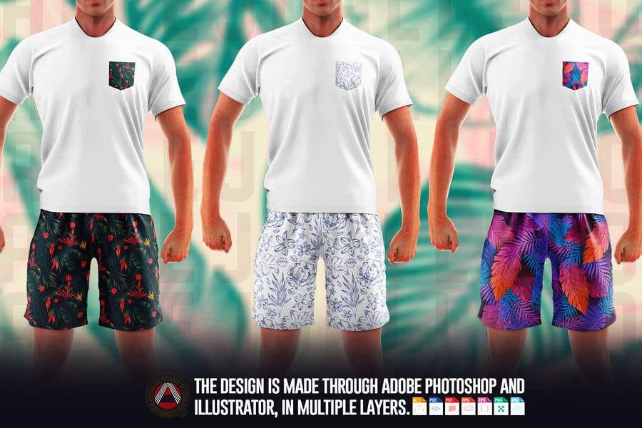 Bài tham dự cuộc thi #                                        64                                      cho                                         Mens swim suit with pocket shirt matching design!