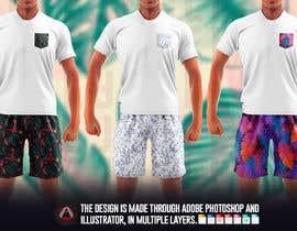 #64 cho Mens swim suit with pocket shirt matching design! bởi allejq99