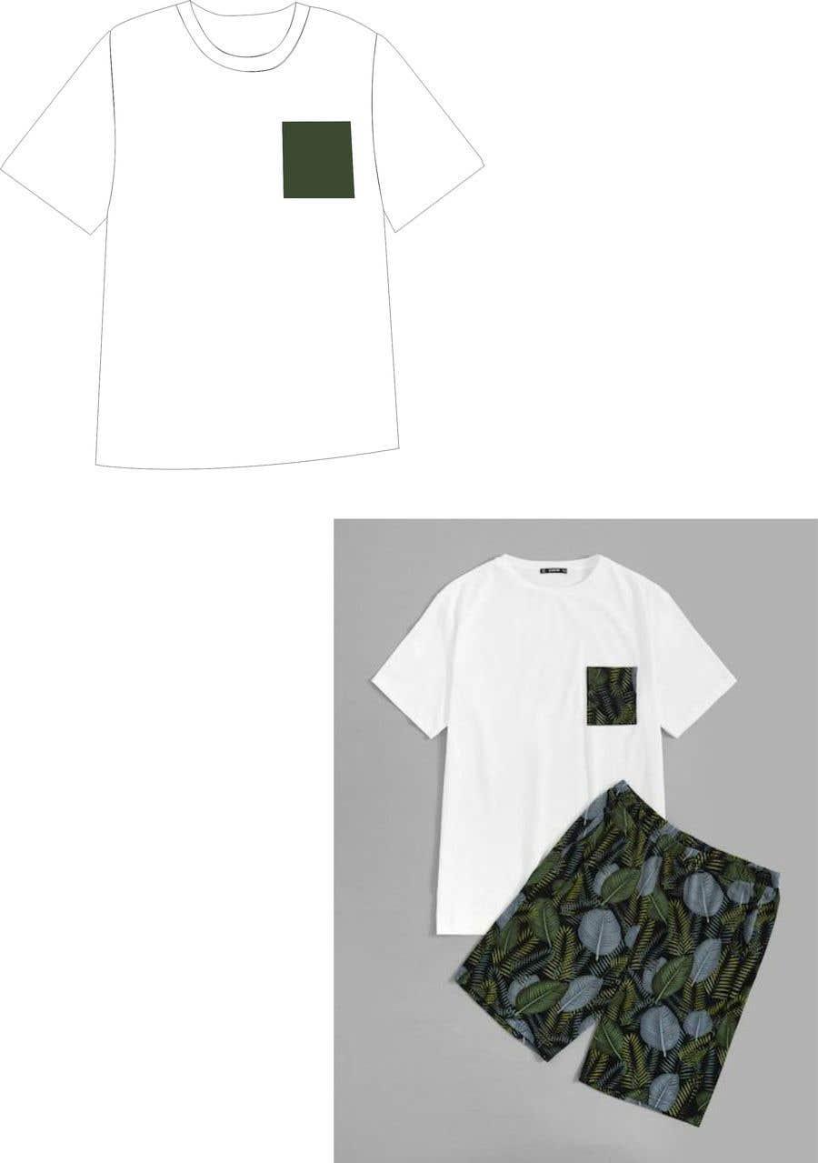 Bài tham dự cuộc thi #                                        15                                      cho                                         Mens swim suit with pocket shirt matching design!
