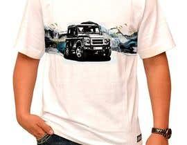 #151 untuk T-Shirt Land Rover Defender 90 design oleh feramahateasril