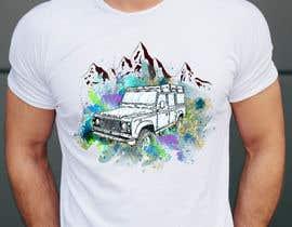#175 untuk T-Shirt Land Rover Defender 90 design oleh varuniveerakkody