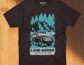 #119 untuk T-Shirt Land Rover Defender 90 design oleh asifhassansabbir